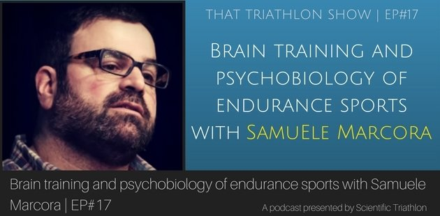 Brain training and psychobiology of endurance sports with Samuele Marcora