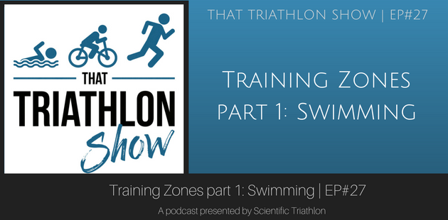 Training Zones part 1: Swimming