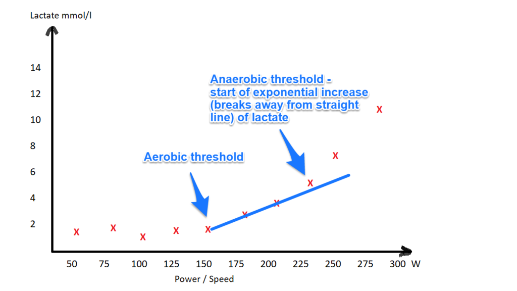 lactate test - anaerobic threshold