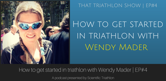 How to get started in triathlon with Wendy Mader