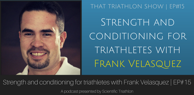 Strength and conditioning with Frank Velasquez Jr