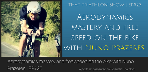 d7c4aade645 Aerodynamics mastery and free speed on the bike with Nuno Prazeres