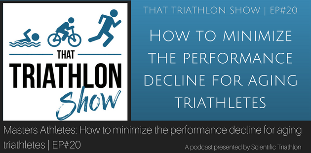 How to minimize the performance decline for aging triathletes