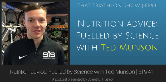 Nutrition advice: Fuelled by Science with Ted Munson