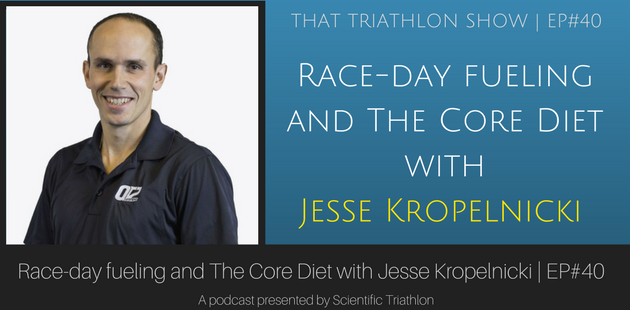 Race-day fueling and The Core Diet with Jesse Kropelnicki