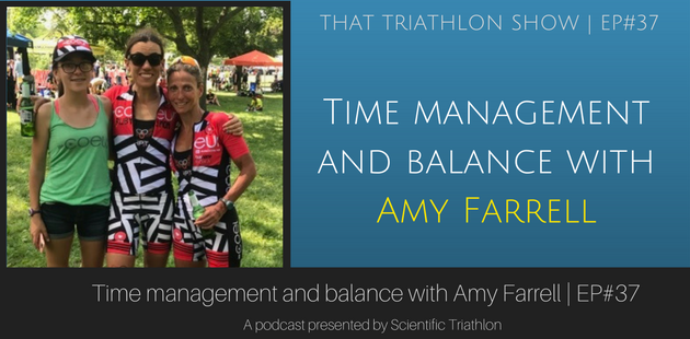 Time management and balance with Amy Farrell