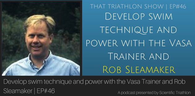Develop swim technique and power with the Vasa Trainer and Rob Sleamaker
