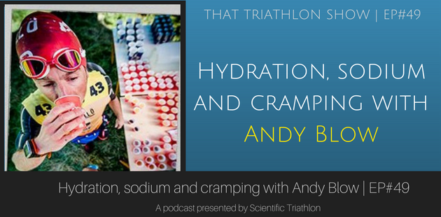 Hydration, sodium and cramping with Andy Blow - EP#49