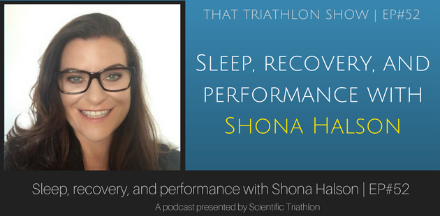 Sleep, recovery, and performance with Shona Halson