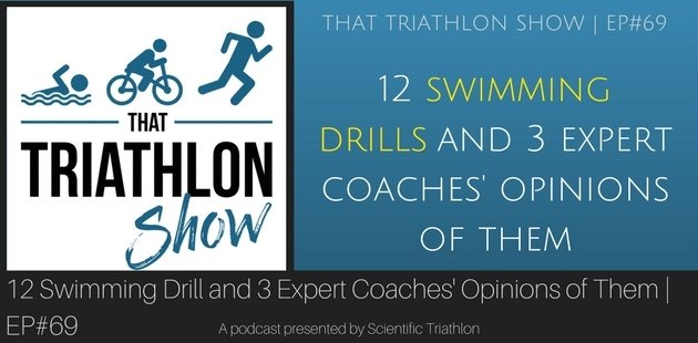 12 swimming drill and 3 expert coaches' opinions of them