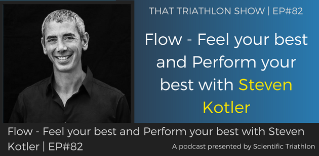 TTS082 - Flow - Feel your best and Perform your best with Steven Kotler