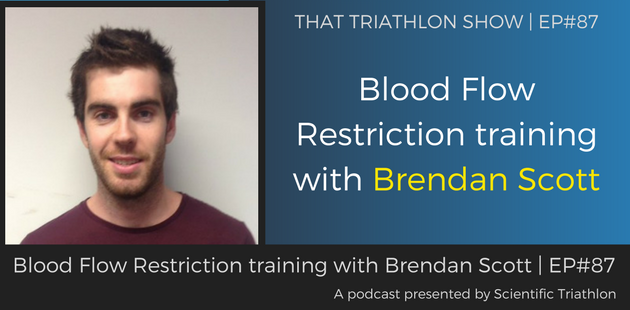 Blood Flow Restriction training with Brendan Scott