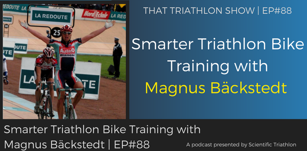 Smarter Triathlon Bike Training with Magnus Bäckstedt