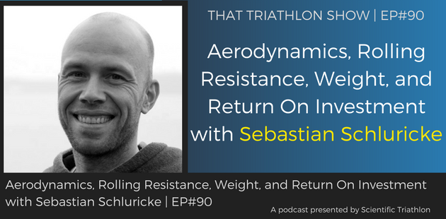 TTS090 - Aerodynamics, Rolling Resistance, Weight, and Return On Investment with Sebastian Schluricke