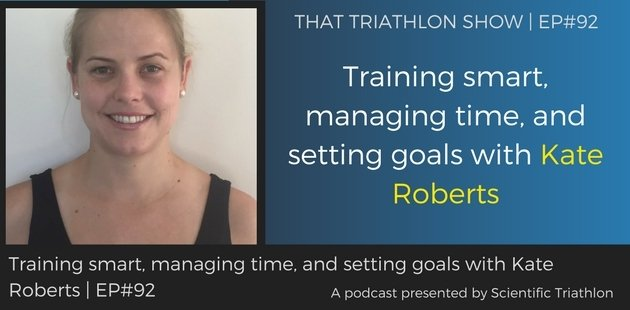 Training smart, managing time, and setting goals with Kate Roberts