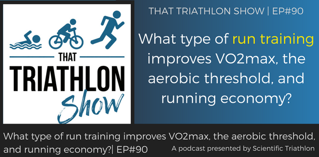 TTS091-What type of run training improves VO2max, the aerobic threshold, and running economy_
