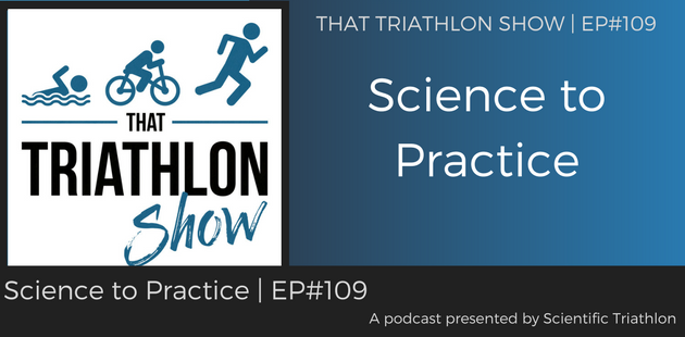 TTS109 - Science to Practice