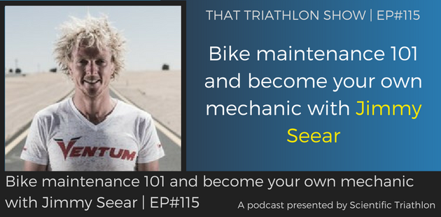 TTS115 - Bike maintenance 101 and become your own mechanic with Jimmy Seear