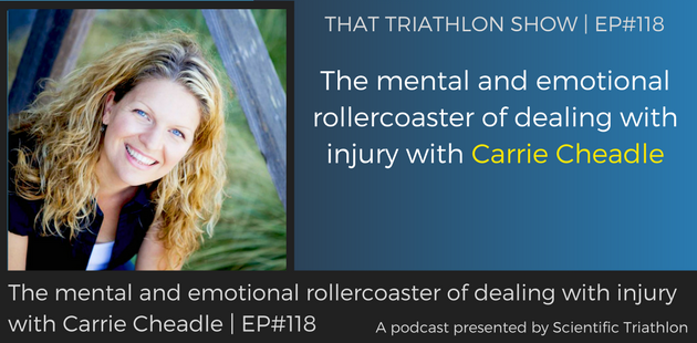 TTS118 - The mental and emotional rollercoaster of dealing with injury with Carrie Cheadle