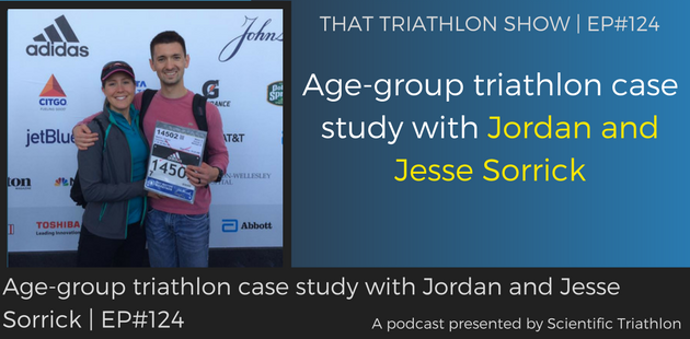 TTS124 - Age-group triathlon case study with Jordan and Jesse Sorrick