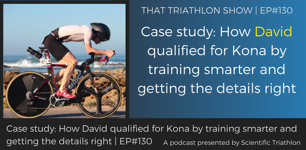 TTS130 - Case study_ How David qualified for Kona by training smarter and getting the details right