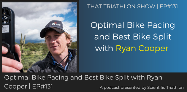 Optimal Bike Pacing and Best Bike Split with Ryan Cooper