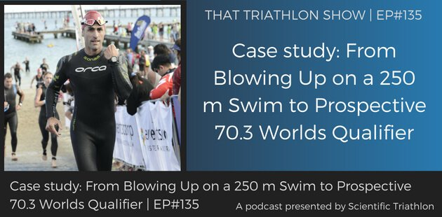 Case study From Blowing Up on a 250 m Swim to Prospective 70.3 Worlds Qualifier
