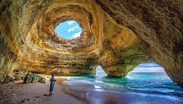 Algarve Sea Caves - Portugal Training Camp