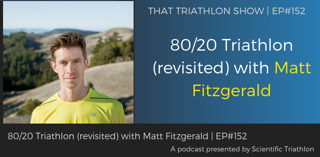 TTS152 - 8020 Triathlon (revisited) with Matt Fitzgerald