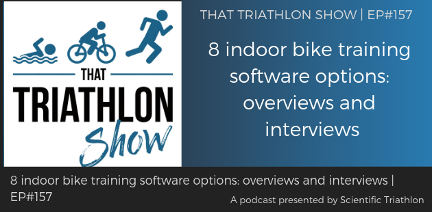 8 indoor bike training software options: overviews and interviews