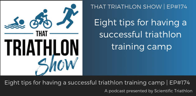 TTS174 - Eight tips for having a successful triathlon training camp