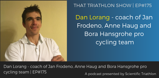 TTS175 - Dan Lorang - coach of Jan Frodeno, Anne Haug and Bora Hansgrohe pro cycling team