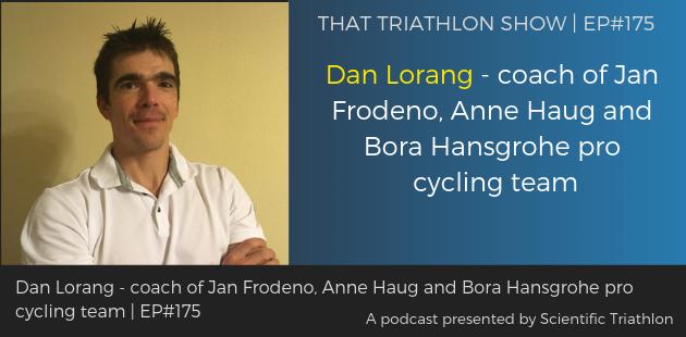 TTS175 - Dan Lorang - coach of Jan Frodeno, Anne Haug and Bora Hansgrohe pro cycling team