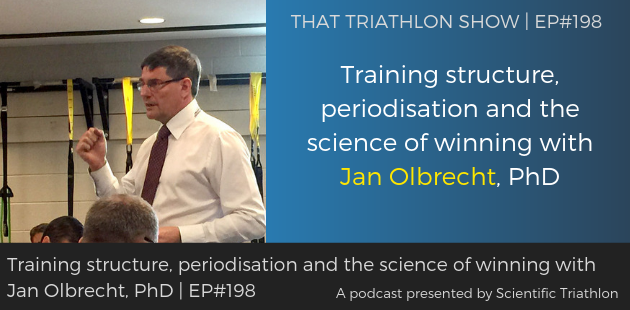 TTS198 - Training structure, periodisation and the science of winning with Jan Olbrecht, PhD