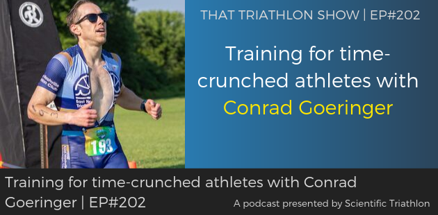 Training for time-crunched athletes with Conrad Goeringer