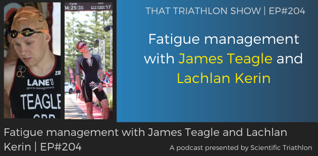 TTS204 - Fatigue management with James Teagle and Lachlan Kerin