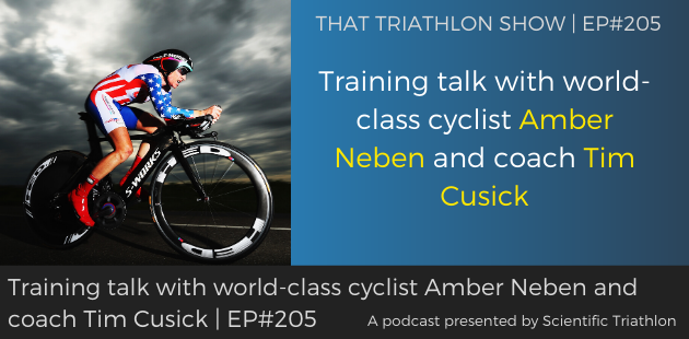 TTS205 - Training talk with world-class cyclist Amber Neben and coach Tim Cusick