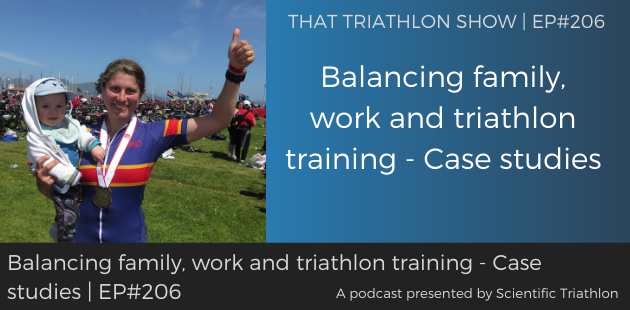 TTS206 - Balancing family, work and triathlon training - Case studies (1)