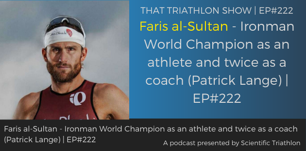 Faris al-Sultan - Ironman World Champion as an athlete and twice as a coach (Patrick Lange)