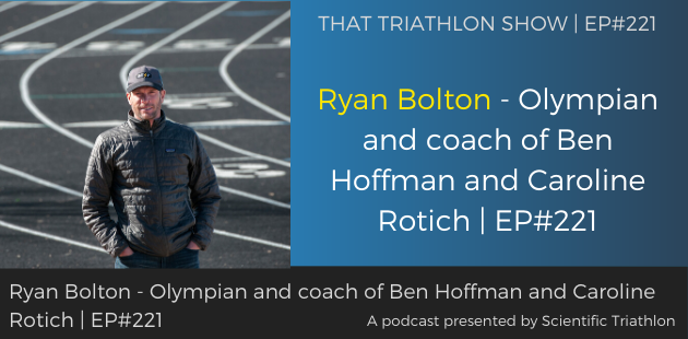 Ryan Bolton - Olympian and coach of Ben Hoffman and Caroline Rotich